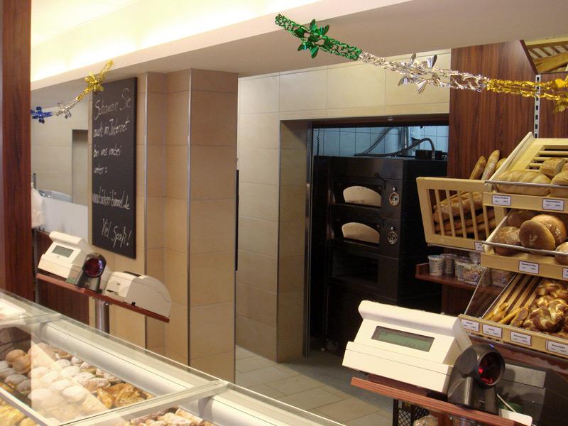 Bäckerei Bömmel Durchgang