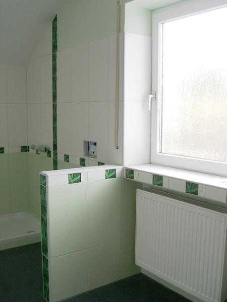 Bad Germering - nachher Fensterbereich