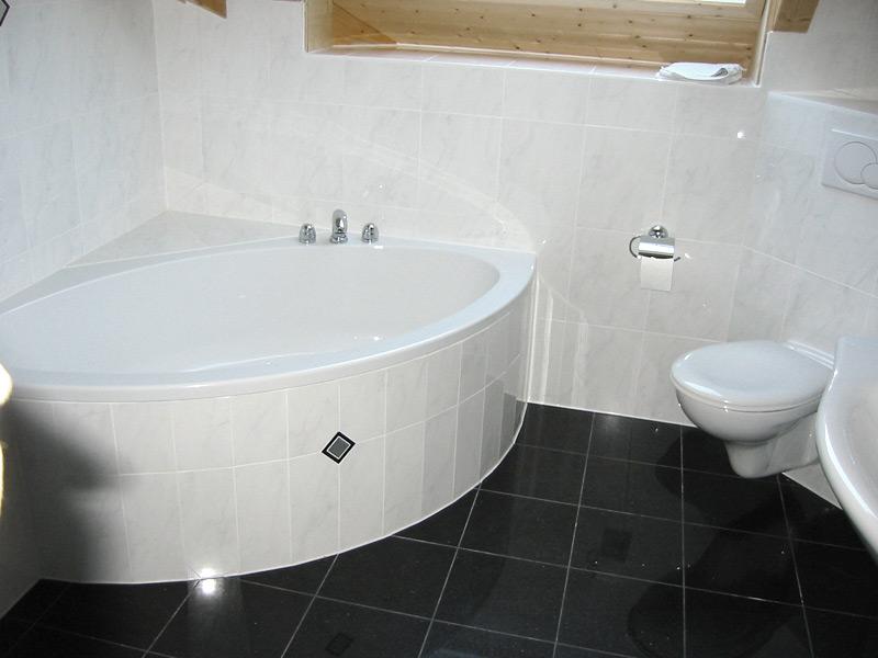Bade- und Duschwanne gerundet, Badewanne