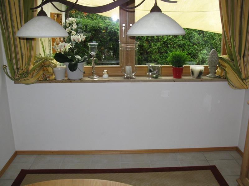 bruchraue Verblender Wand Fenster - vorher