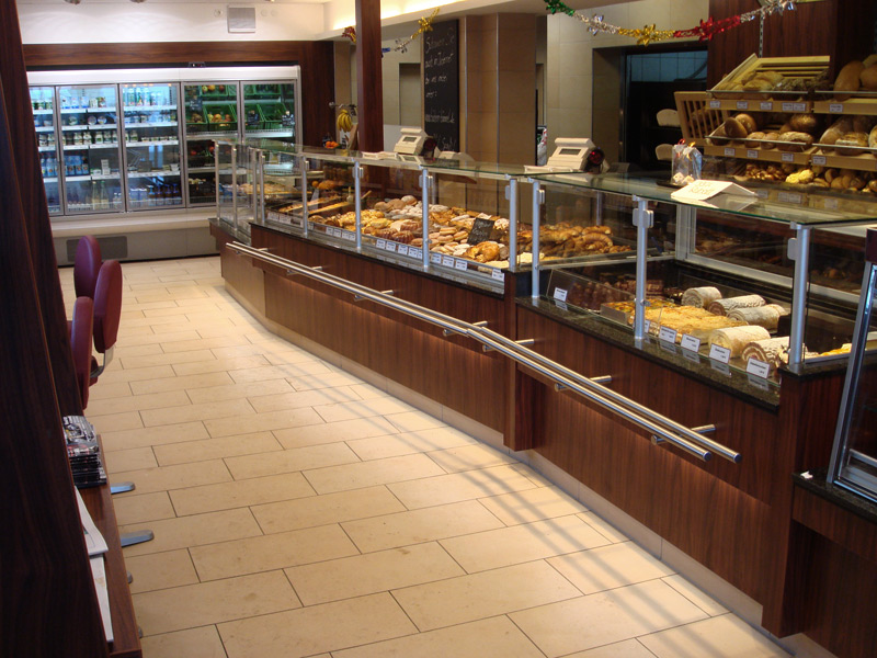 Bäckerei Bömmel Ladentheke