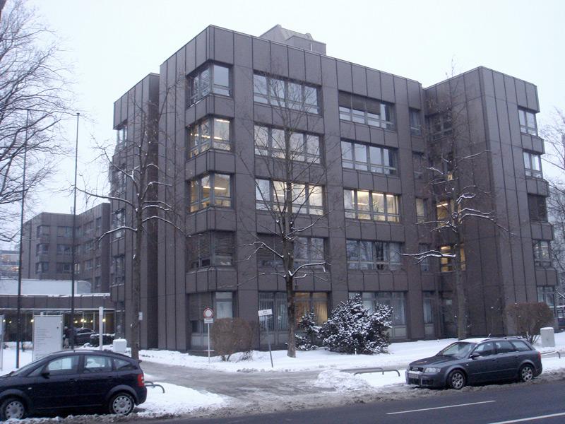 Bürogebäude Denningerstraße Außen