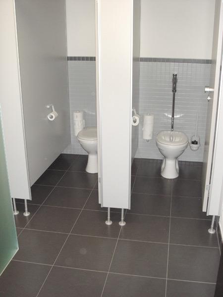 Denningerstraße Toilettenbereich
