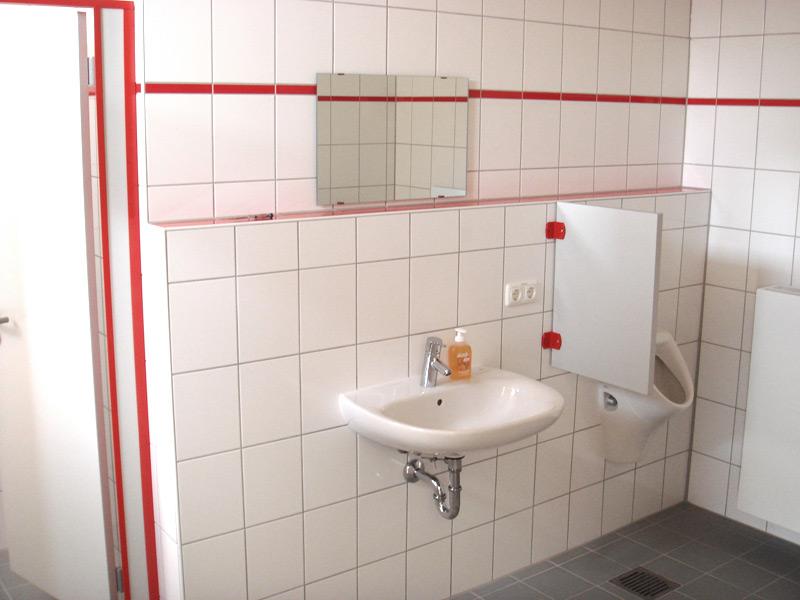 Feuerwehr Unterschweinbach Sanitärraum