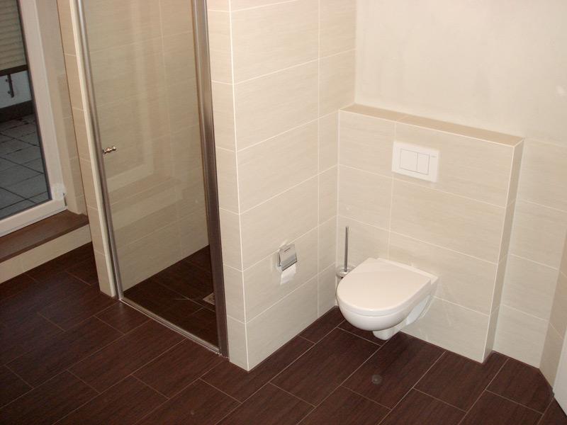 Gebäude Gröbenzell Toilettenbereich