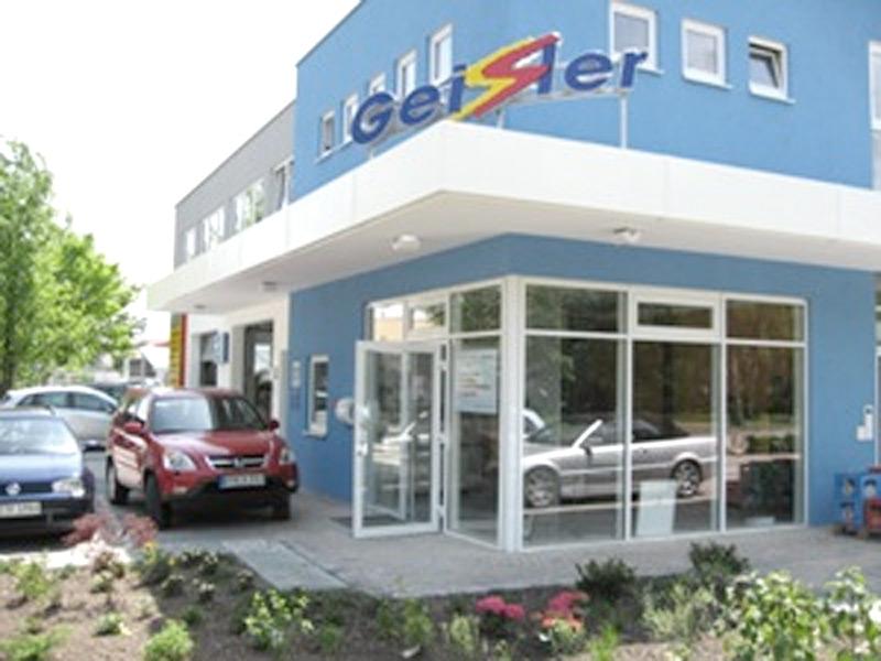 Lackiererei Geissler Wohn- Büro- und Betriebsgebäude Außen