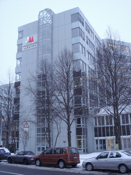 Medien Verlagsgesellschaft MVG Sanierung WC-Anlagen