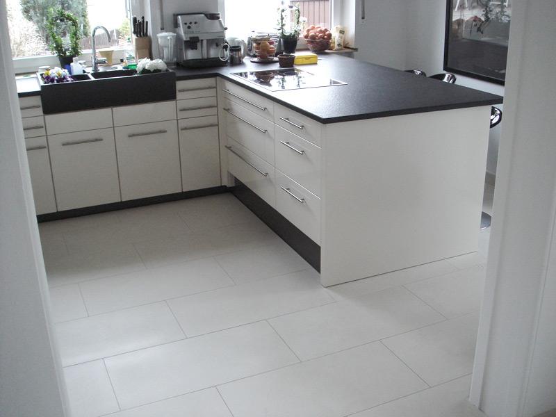 Privathaus Küchenboden
