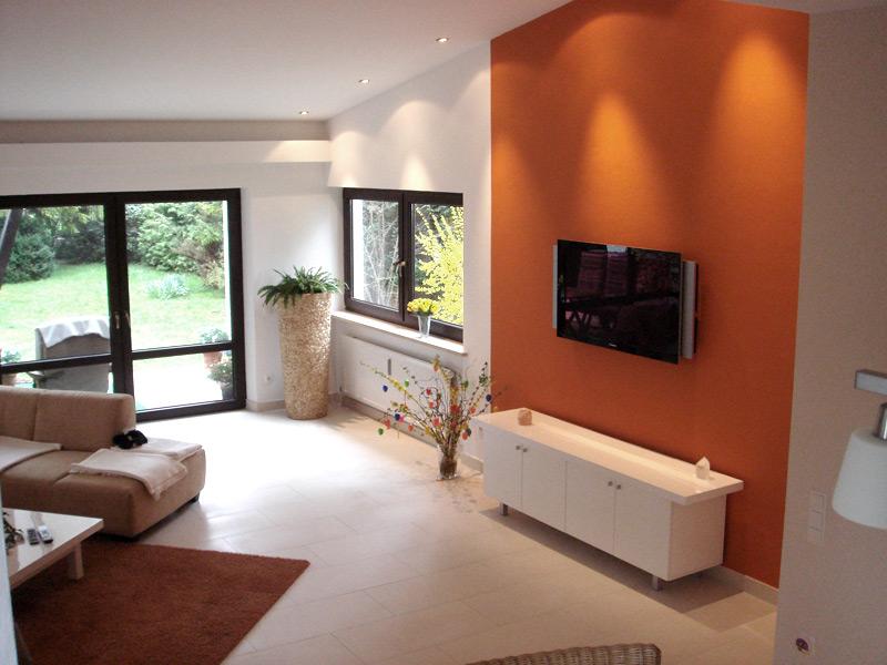 Privathaus Wohnzimmerboden