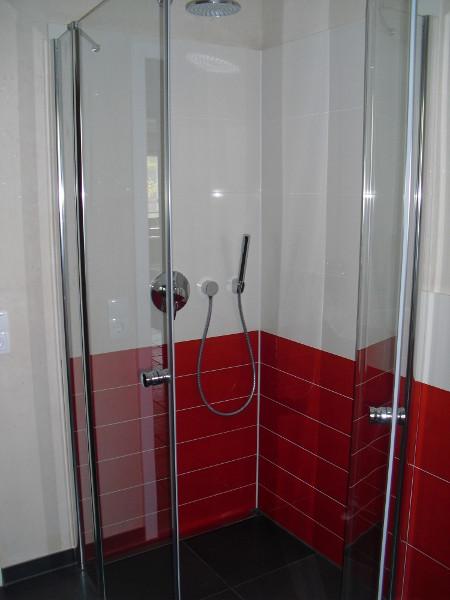 Badplanung und Ausführung Dusche