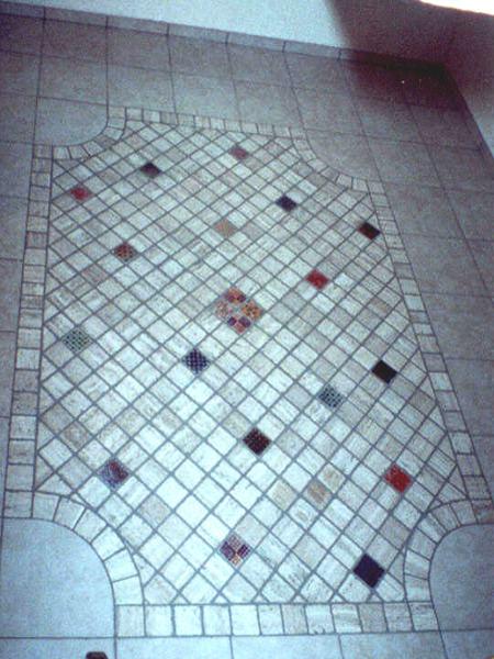 Fliesenteppich